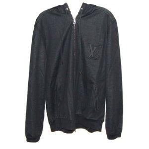 1a7426449363 Louis Vuitton Hooded Zip Up Sweater